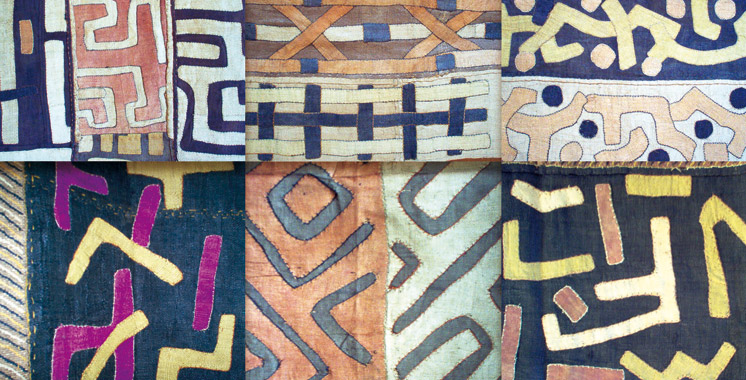 Exposition sur l'Art des tissus Kuba: Ça dure jusqu'en septembre