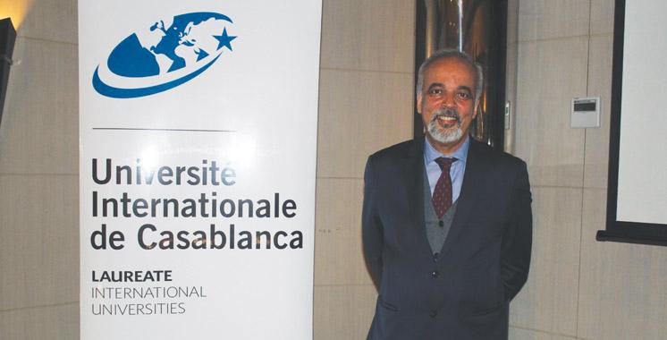 Tawfiq Rkibi, recteur de l'Université Internationale de Casablanca