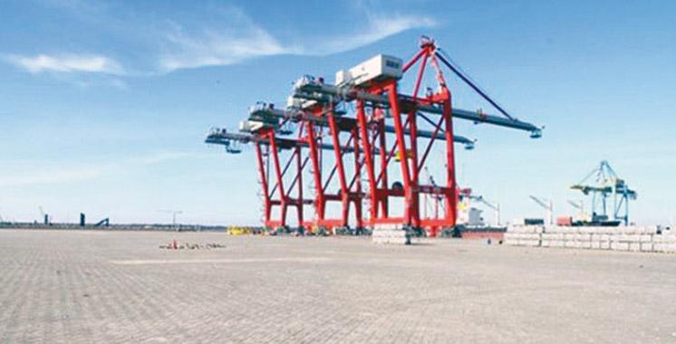 Etat d'avancement du projet Terminal à conteneurs 3 (TC3): Marsa Maroc réalise 80% des travaux