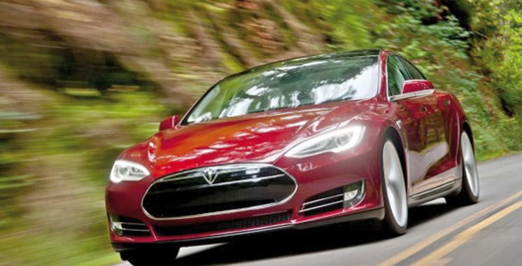 Restylage imminent pour  la Tesla Model S ?