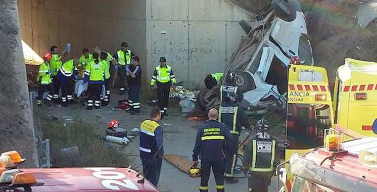 Espagne : Cinq Marocains tués et trois autres blessés dans un accident