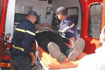 Safi : 3 morts et 37 blessés dans le renversement d'un véhicule  de transport mixte