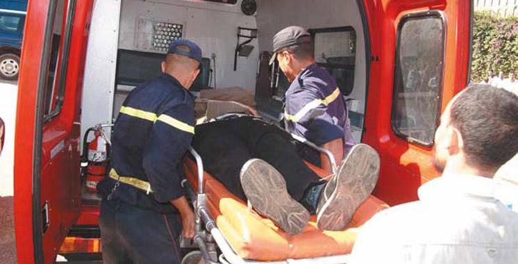 Province d'Al Haouz :  4 morts dans le renversement d'un véhicule de transport mixte