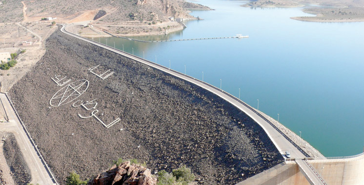 Barrages : Taux de remplissage de 35,6% au 1er décembre