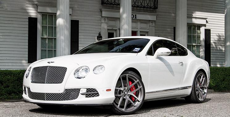 Bentley revisite  sa Continental GT