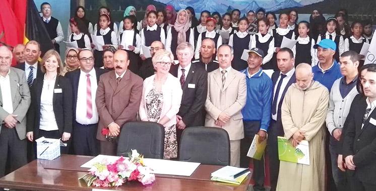 Education à Asilah: Le collège Imam Assili et l'Athénée Royal Andrée Thomas de Forest scellent un partenariat