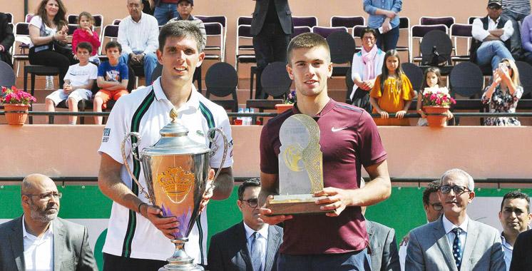 Grand Prix Hassan II de tennis: Delbonis remporte le deuxième titre de sa carrière