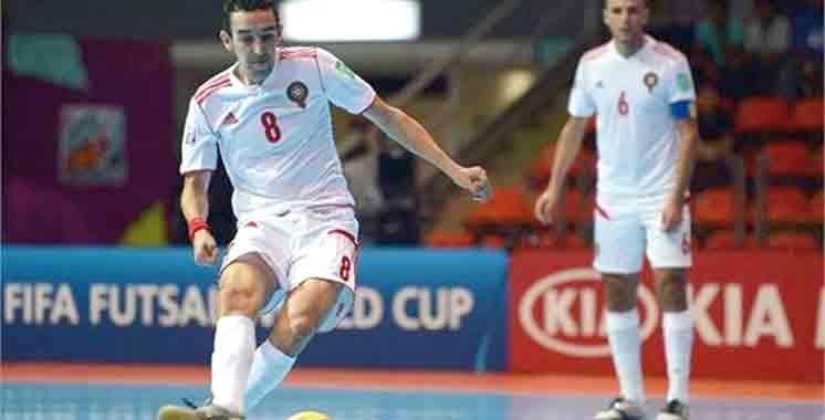 CAN-2016 futsal : Le Maroc  en demi-finale