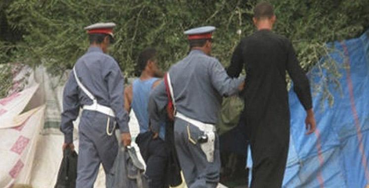 Bouskoura : Démantèlement d'une bande de voleurs de câbles électriques