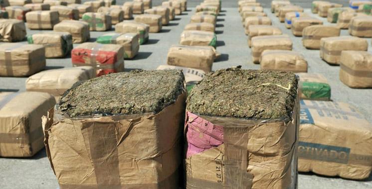Saisie de 2 tonnes de kif  à Ksar El Kébir