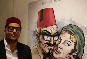 Casablanca : Mohamed El Bellaoui, alias Rebel Spirit, expose à la Villa des Arts
