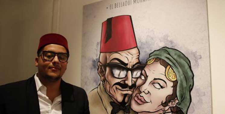 Casablanca : Mohamed El Bellaoui, alias Rebel Spirit, expose à la Villa des Arts