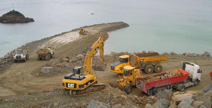 Le plan de masse définitif du nouveau port de Safi validé