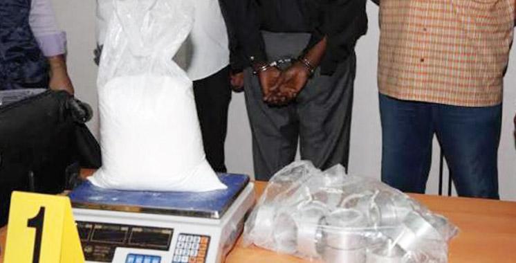 Arrestation à l'aéroport Mohammed V de deux ressortissants étrangers pour trafic de plus de 8 kg de cocaïne