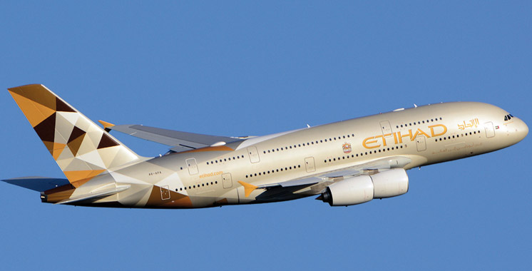 Etihad Airways lance un autre vol  direct vers Rabat