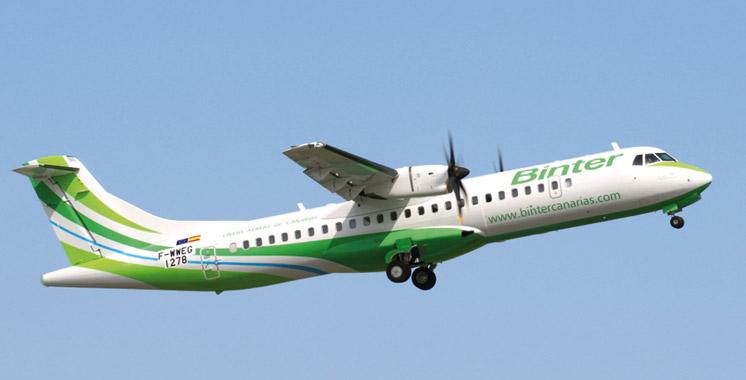 «Binter» lance une nouvelle promotion de ses vols du Maroc vers les îles Canaries