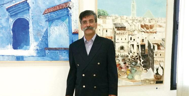Arts plastiques: Ammous expose à Tanger