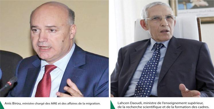Signature de convention: Birou et Daoudi veulent inciter à la recherche en migration