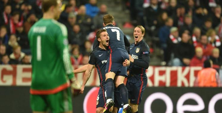 Ligue des champions : L'Atletico premier qualifié pour la finale