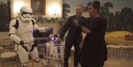 Etat-Unis : Le couple présidentiel danse avec les Stormtroopers de Star Wars