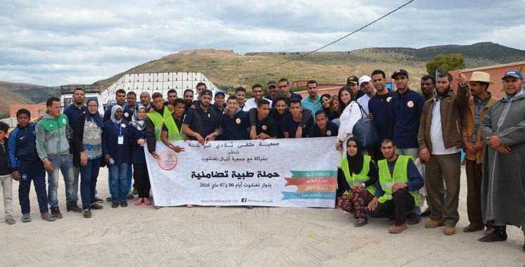 Accès aux services de santé dans la province d'El Haouz: Quand la société civile prend le relais