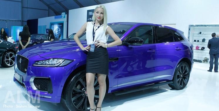 Nouveau Jaguar F-Pace: Le félin est à l'Auto Expo !