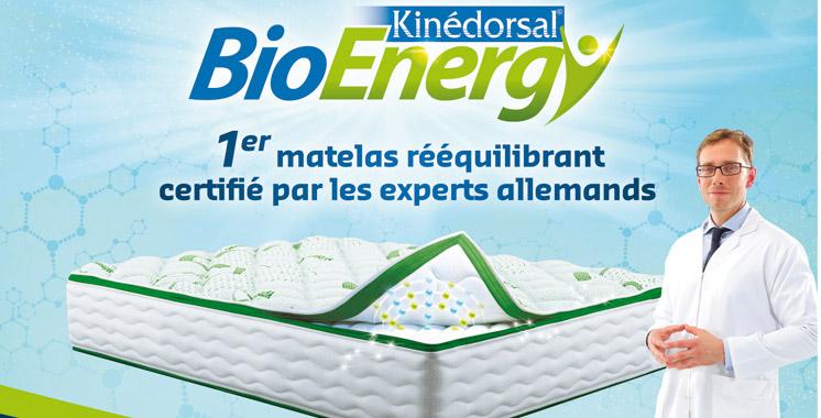 Literie au Maroc : Kinédorsal innove et lance Bioenergy
