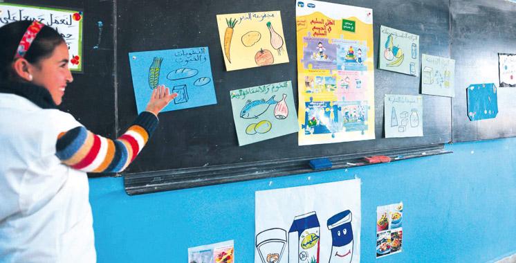 Programme «Sehaty fi taghdiyati»: Des écoliers slaouis valorisent l'apport du lait