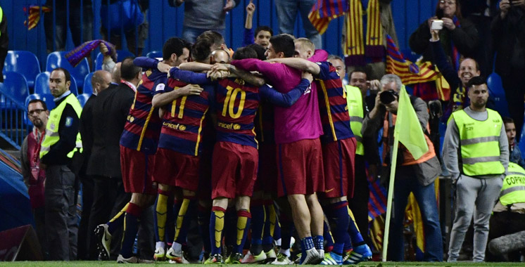 Football : Barcelone remporte sa 28e Coupe d'Espagne
