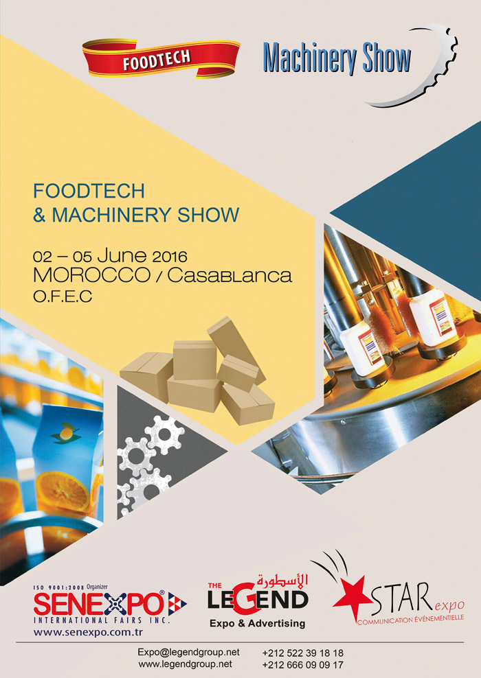 Foodtech et machinery show deux salons en un pour for Salon vision industrielle
