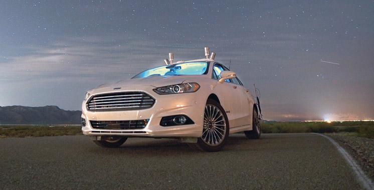 Nouvelles technologies : La voiture autonome  de Ford se joue des ténèbres!