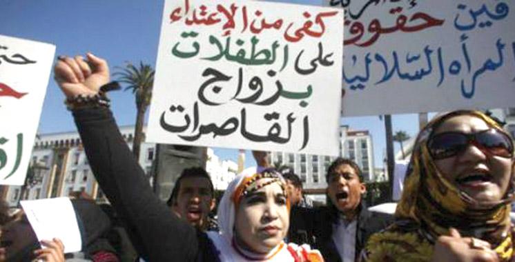 Mariage des mineures : Plus de 33.000 cas en 2014