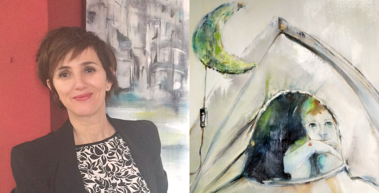 Elle expose chez la Fondation Hassan II pour les MRE: Mériame Mezgueldi s'exprime sur le perdu