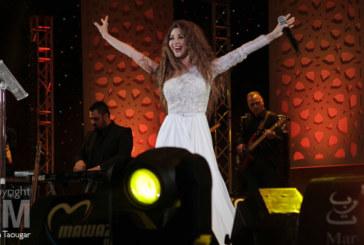 Mawazine: Myriam Fares, le charme arabe sur scène