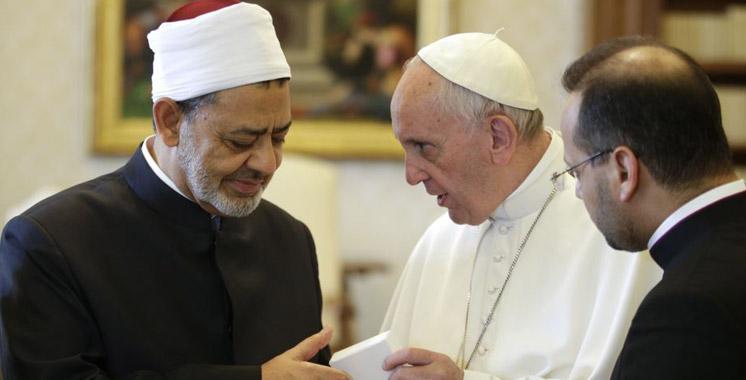 Le Pape et le grand Imam d'Al Azhar discutent de la paix dans le monde