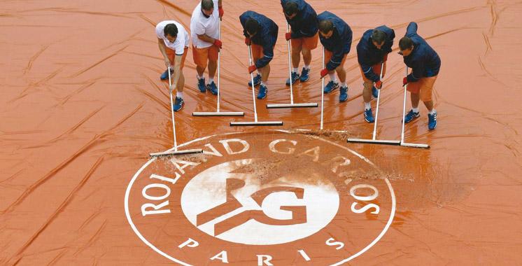 Roland-Garros : Tous les matches de lundi  annulés à cause de la pluie