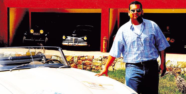 salim bekkari entretenir une voiture ancienne c est la faire rouler aujourd 39 hui le maroc. Black Bedroom Furniture Sets. Home Design Ideas