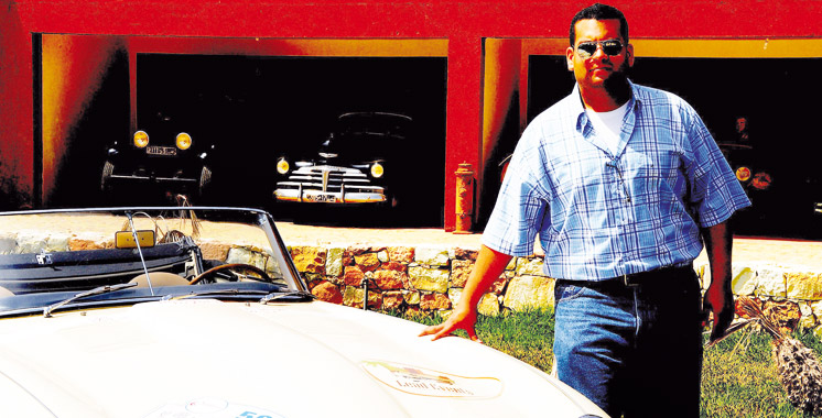 Salim Bekkari: «Entretenir une voiture ancienne, c'est la faire rouler !»