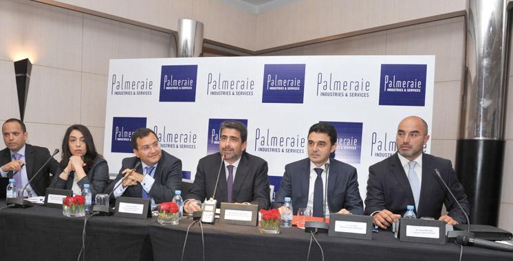Palmeraie Industries & Services dévoile sa vision: Le groupe mobilisera 3 milliards  de dirhams à l'horizon 2020