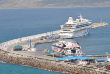 Le mauvais temps  suspend le trafic maritime entre Tanger ville et Tarifa
