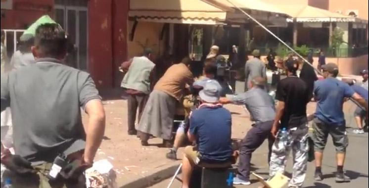 Vidéo du tournage de Prison Break à Ouarzazate