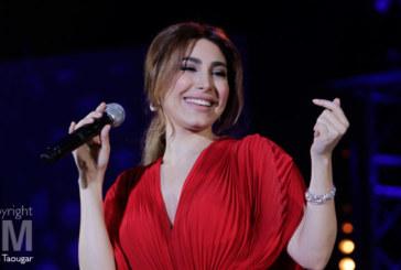 Yara, la voix romantique, a charmé  les cœurs de ses fans