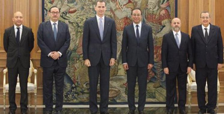 Amara reçu en audience par  le Roi Felipe VI d'Espagne