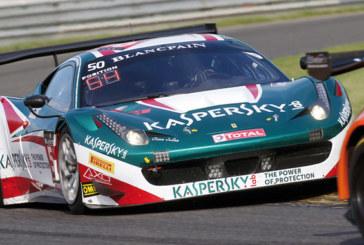 Sport automobile: Kaspersky court au Blancpain GT Series