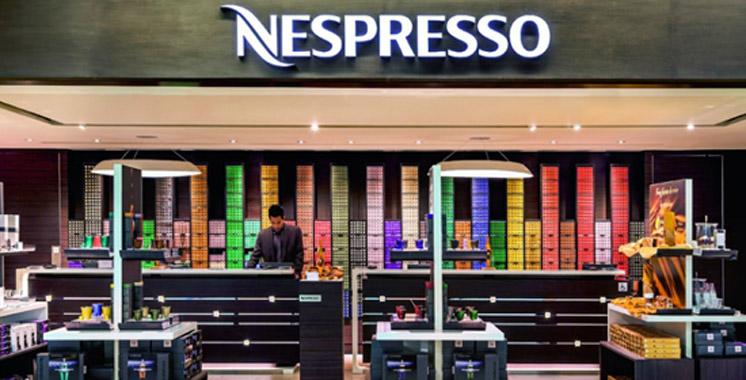 ouverture une nouvelle boutique nespresso tanger aujourd 39 hui le maroc. Black Bedroom Furniture Sets. Home Design Ideas