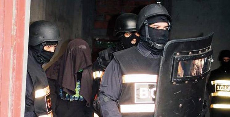 BCIJ: Démantèlement d'une cellule terroriste à Nador