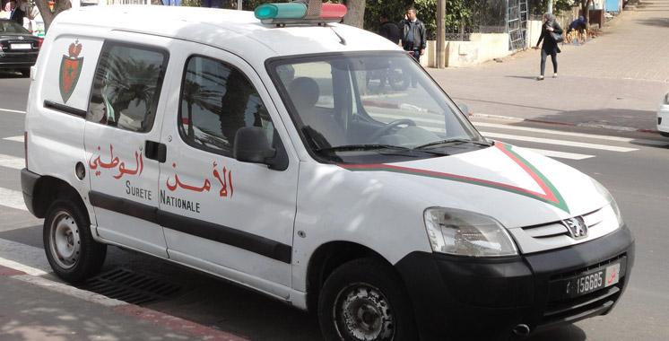 Marrakech: deux policiers suspendus pour usage personnel de leur voiture de service