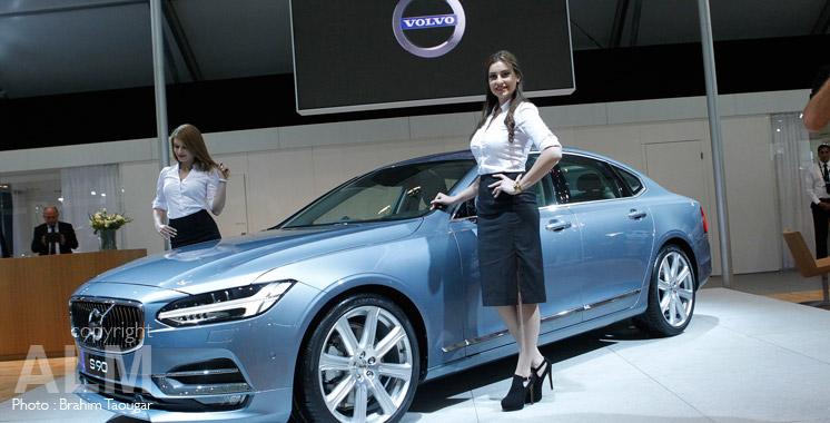 Vente de voitures : Volvo prédit une année 2017 record