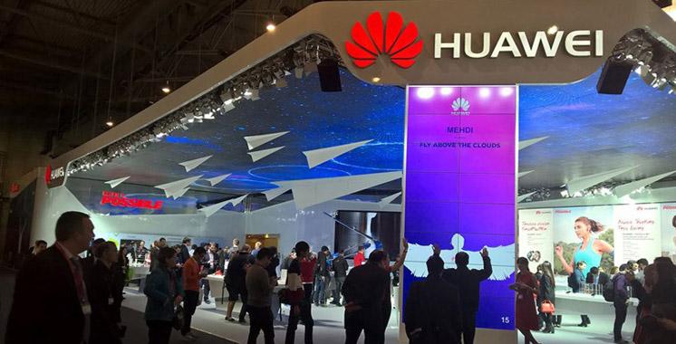 Le fabricant de smartphones Huawei est troisième mondial en termes de parts de marché
