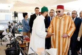 Casablanca: SM le Roi lance le programme d'appui à l'auto-emploi des ex-détenus